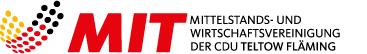 Logo der Mittelstands- und Wirtschaftsvereinigung der CDU KV Teltow-Fläming